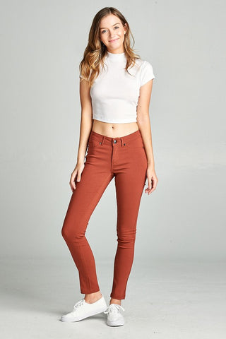Basic Skinny Pants PLUS - Sophie's Boutique