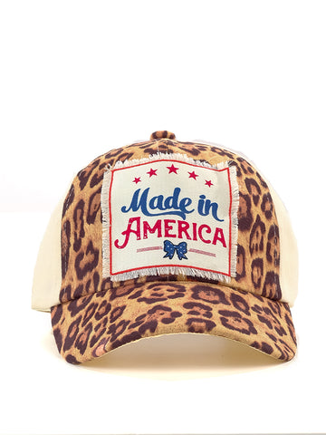 Made in America Leopard - Sophie's Boutique