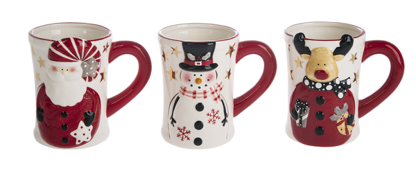 Holiday Coffee Mugs - Sophie's Boutique