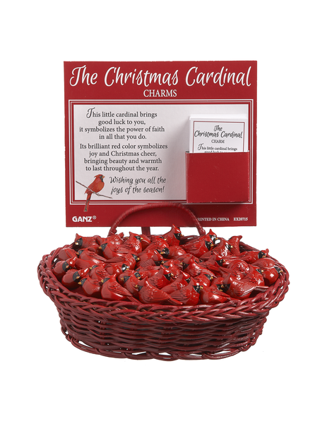 The Christmas Cardinal Purse Charm - Sophie's Boutique