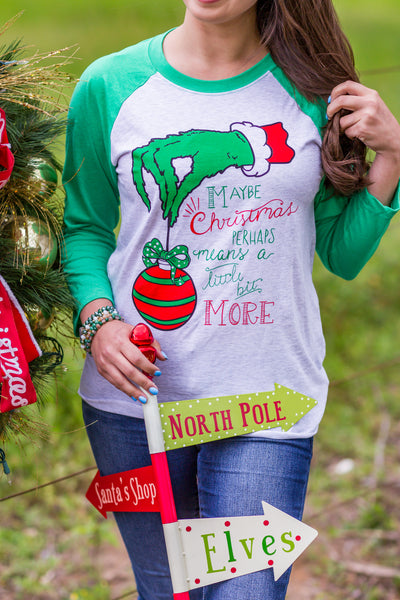Christmas Baseball T-Shirts - Sophie's Boutique