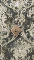 "Two Tone Double Sided Initial Necklace 16"" - Sophie's Boutique"