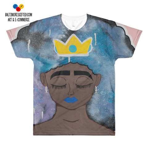 Afro Queen Sublimation T-Shirt
