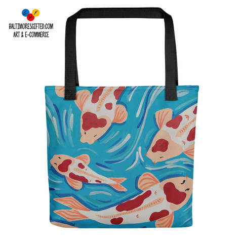 New Life All Over Tote Bag
