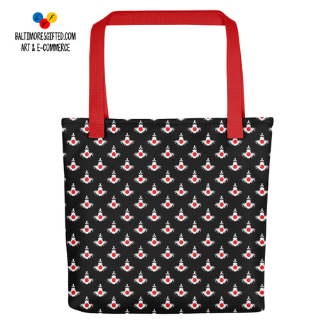 Japan All Over Tote Bag