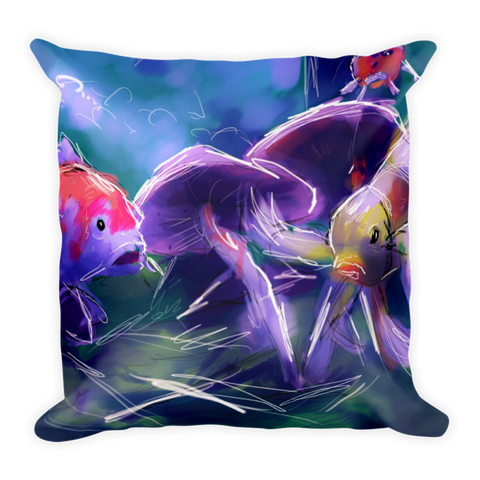 """Shroomin"" Pillow"