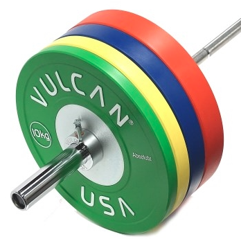 160KG Competition Bumper & Bar Set - Barbell Bros - Vulcan - CrossFit - Olympic Weightlifting - Canada - 1