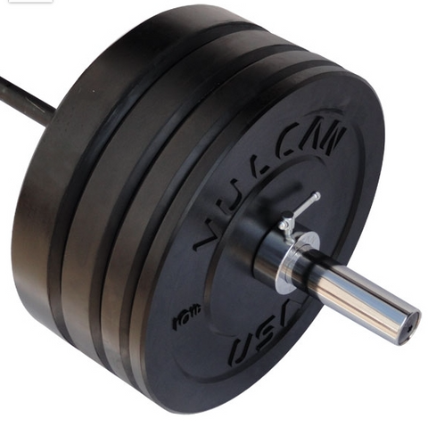 275LB Black Bumper & Bar Set - Barbell Bros - Vulcan - CrossFit - Olympic Weightlifting - Canada - 1