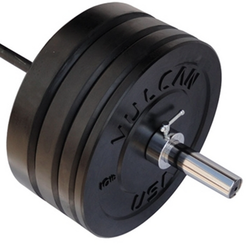 295LB Black Bumper & Bar Set - Barbell Bros - Vulcan - CrossFit - Olympic Weightlifting - Canada - 1