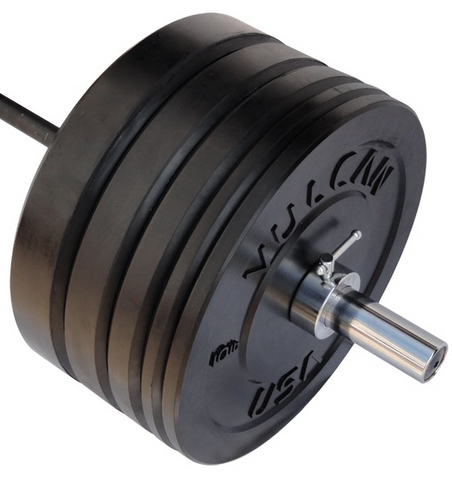 305LB Black Bumper & Bar Set - Barbell Bros - Vulcan - CrossFit - Olympic Weightlifting - Canada - 1