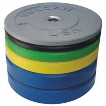 350LB Color Bumper Plate Set - Barbell Bros - Vulcan - CrossFit - Olympic Weightlifting - Canada - 1