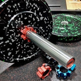230LB Alpha Bumper Plate Set - Barbell Bros - Vulcan - CrossFit - Olympic Weightlifting - Canada - 2