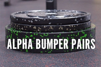 Alpha Bumper Plate Pairs - All Weights - Barbell Bros - Vulcan - CrossFit - Olympic Weightlifting - Canada - 1