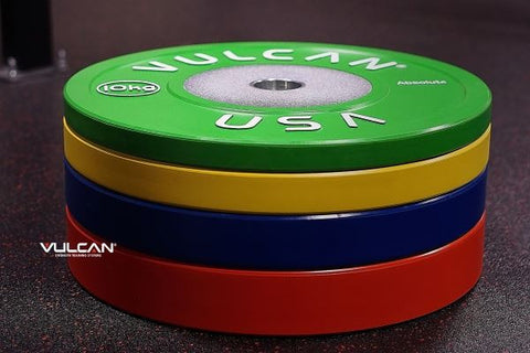 140KG Absolute Competition Bumper Plate Set - Barbell Bros - Vulcan - CrossFit - Olympic Weightlifting - Canada - 2