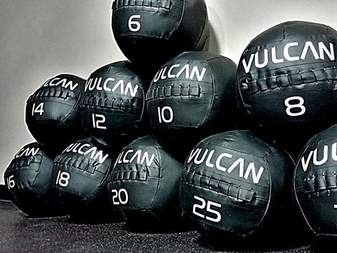 Vulcan Medicine Balls - All Weights - Barbell Bros - Vulcan - CrossFit - Olympic Weightlifting - Canada - 1