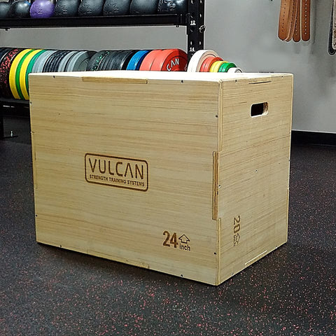 Vulcan 3-in-1 Plyometric Box - Barbell Bros - Vulcan - CrossFit - Olympic Weightlifting - Canada