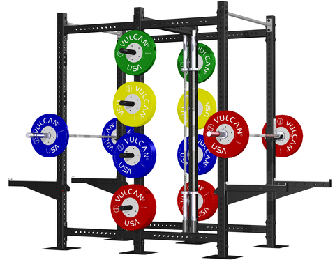 Tandem Power Rack/Half Rack - Barbell Bros - Vulcan - CrossFit - Olympic Weightlifting - Canada