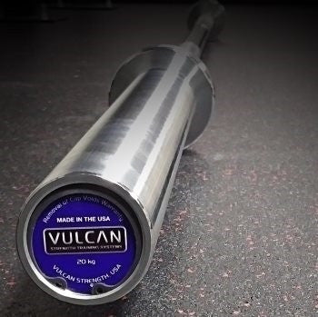 Vulcan Standard 28MM Bearing Bar - Barbell Bros - Vulcan - CrossFit - Olympic Weightlifting - Canada - 1