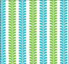 Seaport Shift -  Vertical Vines Blue/Green