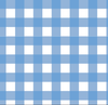 Caroline Dress - Blue Picnic Check
