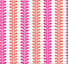 Yacht Club Shift - Vertical Vines Coral/Pink