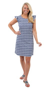 Jojo Dress - Rope Stripe