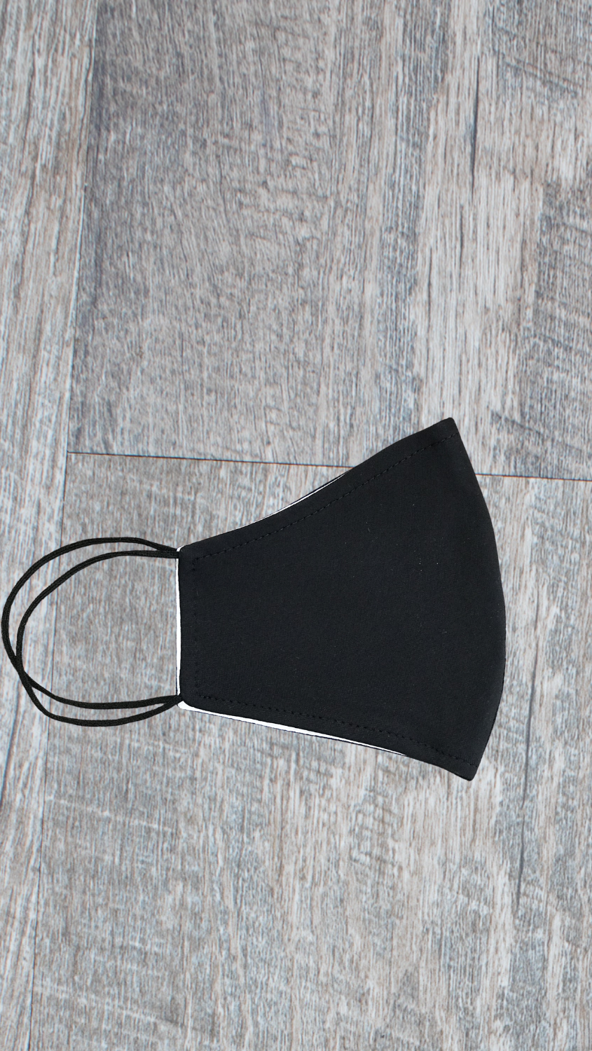 Face Mask - Solid Black - FINAL SALE