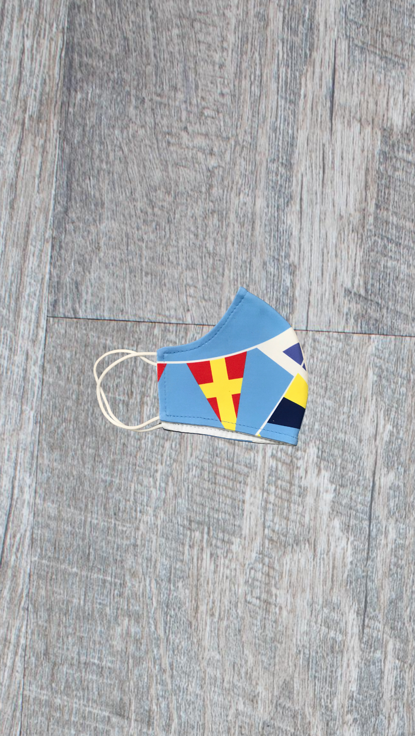 Kids Face Mask - Signal Flag - FINAL SALE