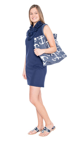 Skipper Dress - Navy