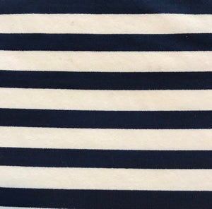 Seaport Shift - Wide Navy/White Stripe