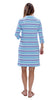 Hannah Dress - Resort Stripes