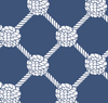 Seaport Shift - Knotted Rope Ball Navy/White - FINAL SALE