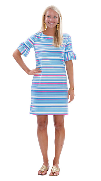 Dockside Dress - Resort Stripes