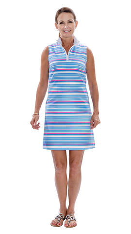 Britt Dress - Resort Stripes