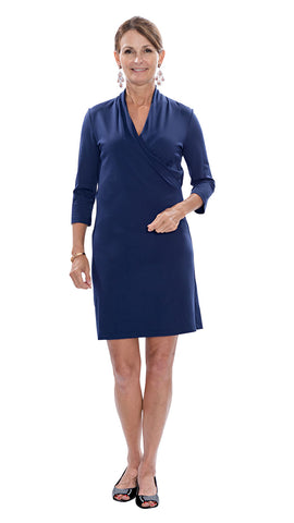 Kimberly Dress - Solid Navy FINAL SALE