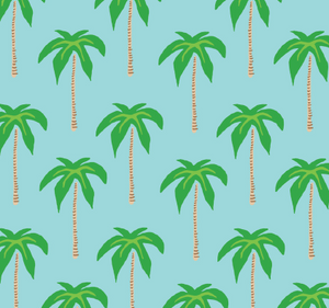 Dockside Dress - Palm Trees - FINAL SALE