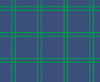 Yacht Club Shift 3/4- Navy/Green Window pane