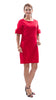 Dockside Dress - Red