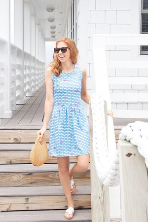 Boardwalk Dress - Minnow