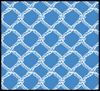 Seaport Shift - Blue/White Fish Net