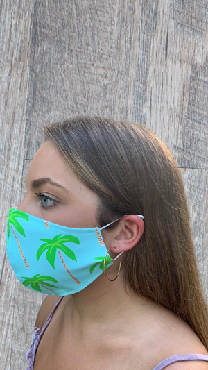 Face Mask - Palm Tree - FINAL SALE