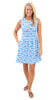 Boardwalk Dress - Clam Bake White on Bonnie Blue