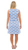 Boardwalk Dress - Large School of Fish