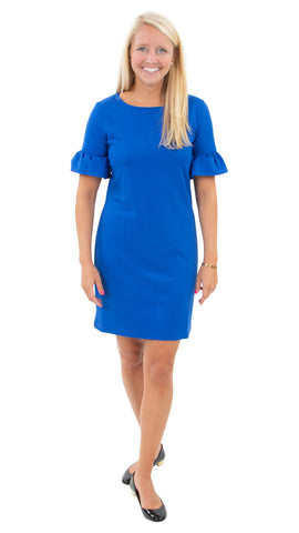 Dockside Dress - Solid Royal Blue