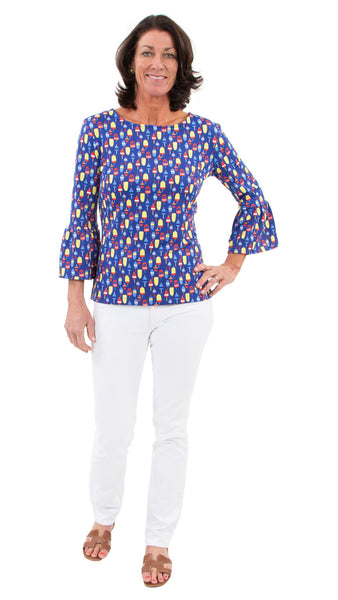 Haley Top - Little Buoys - FINAL SALE
