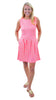 Boardwalk Dress- Sand Dollar Pink/Green