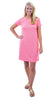 Marina Dress- Sand Dollar Pink/Green