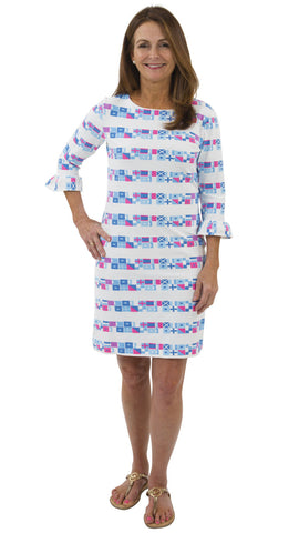 Dockside 3/4 Dress - SOS Flags