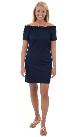 Kate Dress - Solid Navy