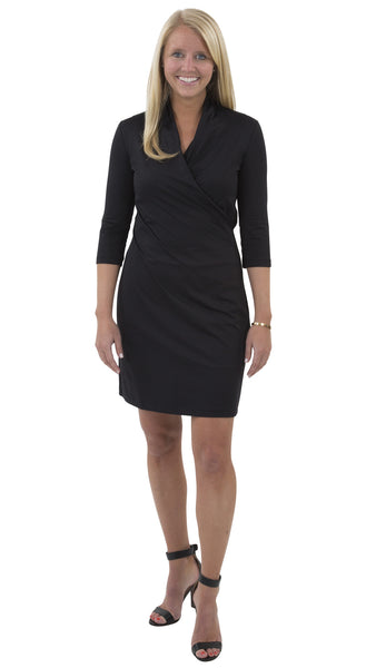 Kimberly Dress - Solid Black